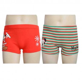 Ropa interior Pack 2 boxer infantil Mickey.