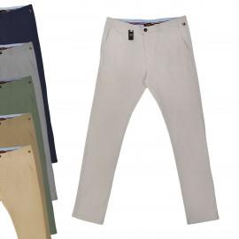 Pantalones y Vaqueros Pantalón chino Slim sin pinzas para hombre