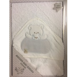 Capa baño bebé algodón