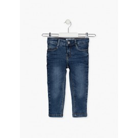 Pantalón infantil color denim de Losan