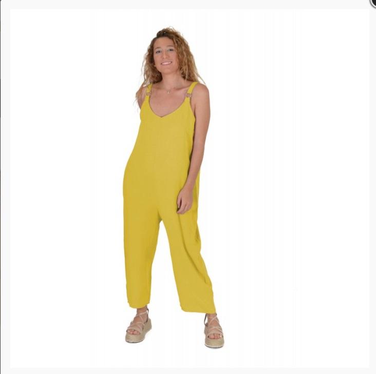 mono largo amarillo