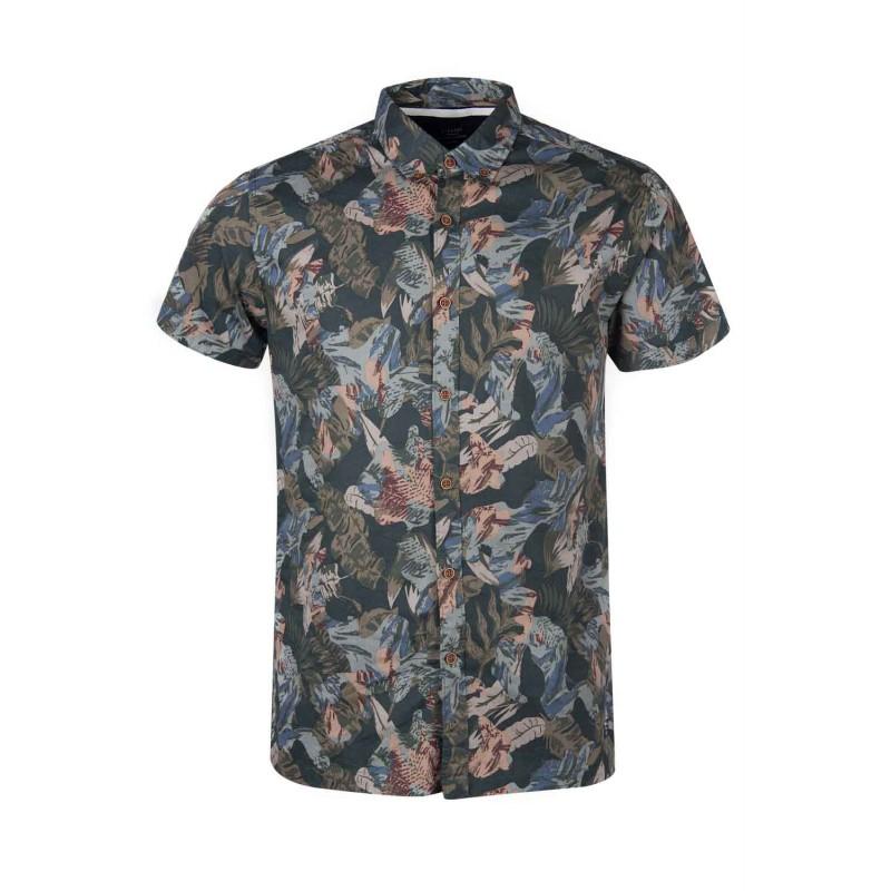 camisa de flores hombre