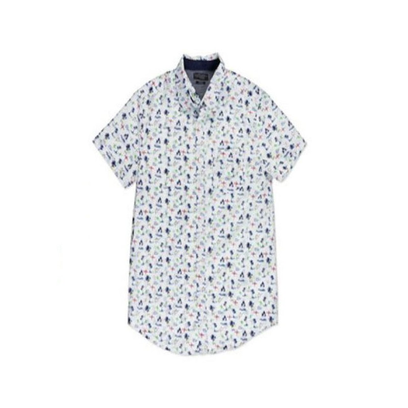 camisa de dibujos de hombre