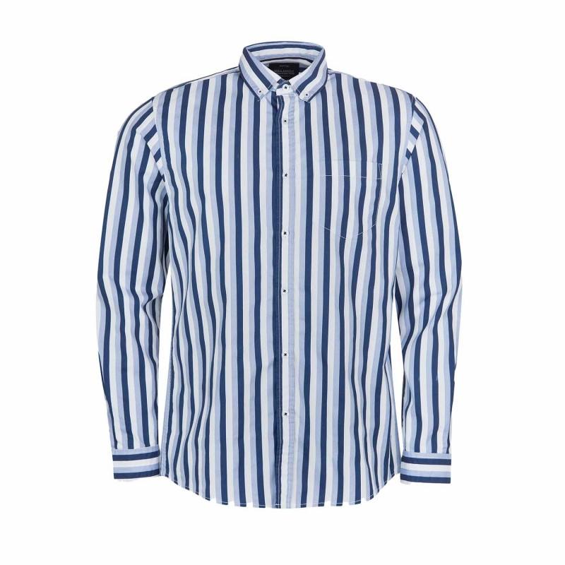 Camisa de rayas anchas