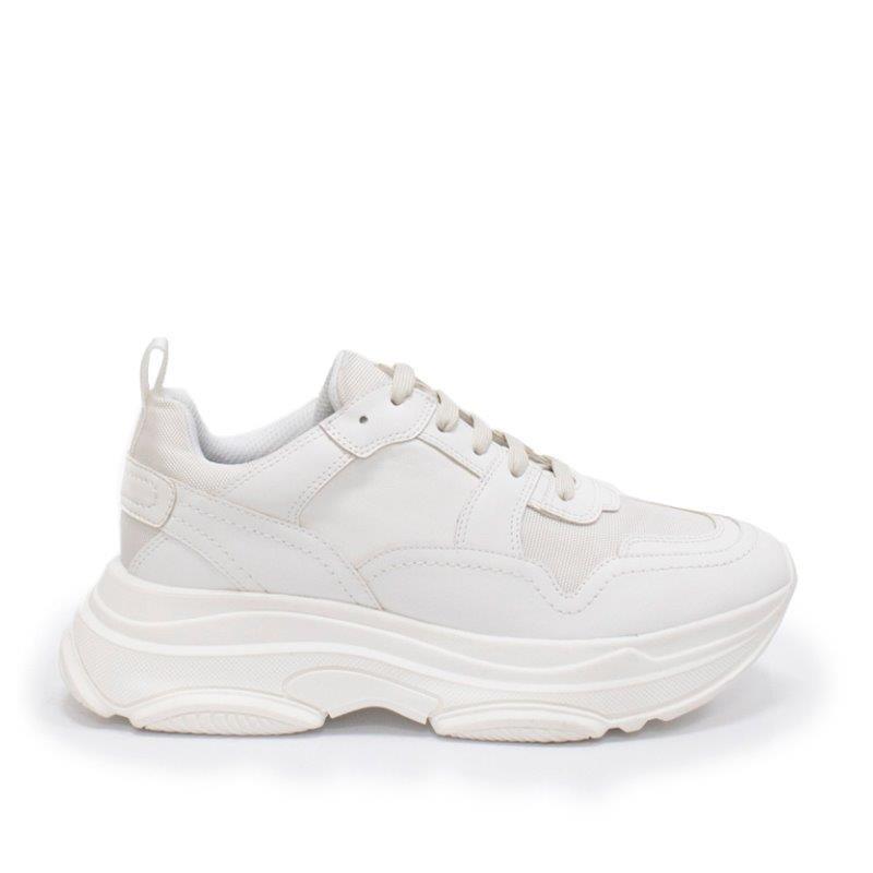 zapatillas deportivas con plataforma blancas