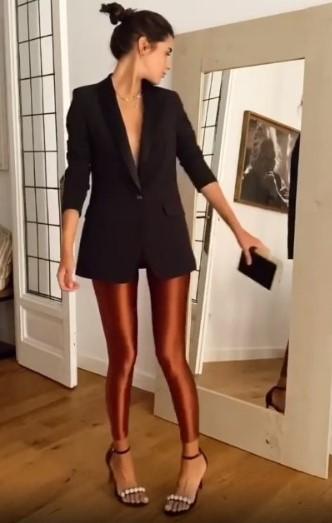 Mery Turiel en leggins