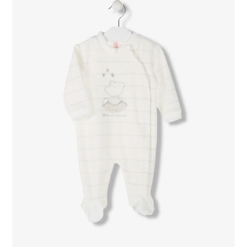 pijama de bebé enterizo