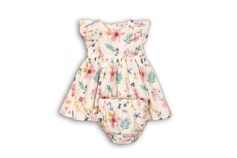 vestido bebé flores